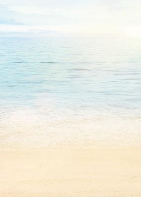 100 Blatt Motivpapier-5013 - DIN A4 - Strand Meer Wasser Ozean, Briefpapier TOP