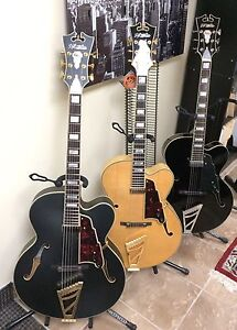 D'Angelico Archtop, Semi-Hollow & acoustic guitars