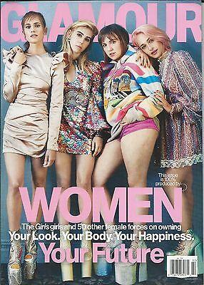 Glamour Magazine Girls Lena Dunham Allison Williams Zosia Mamet Jemima Kirke