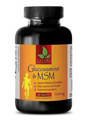 MSM Powder & Vitamin C - GLUCOSAMINE CHONDROITIN & MSM - Support Joint Health 1B Glucosamine Chondroitin Powder