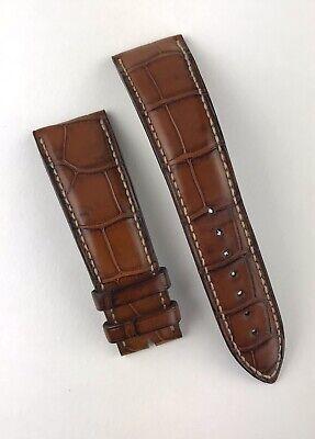 Blancpain Brown Alligator 22mm 22x18 Strap Band