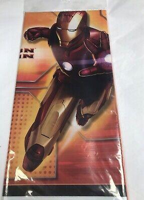 IRON MAN PLASTIC TABLE COVER ~ Birthday Party Supplies Decorations](Birthday Iron Man)