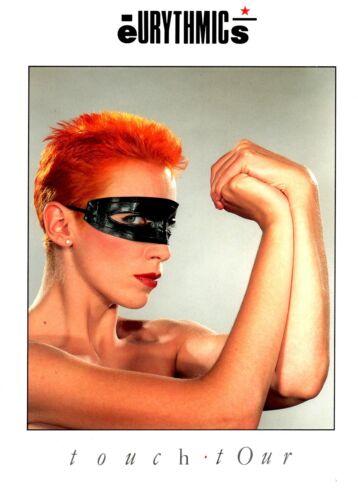 EURYTHMICS / ANNIE LENNOX 1983 TOUCH TOUR CONCERT PROGRAM BOOK / NMT 2 MINT