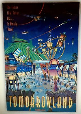 Disney Tomorrowland Attraction Poster Art Print 32 x 40  Walt Disney World