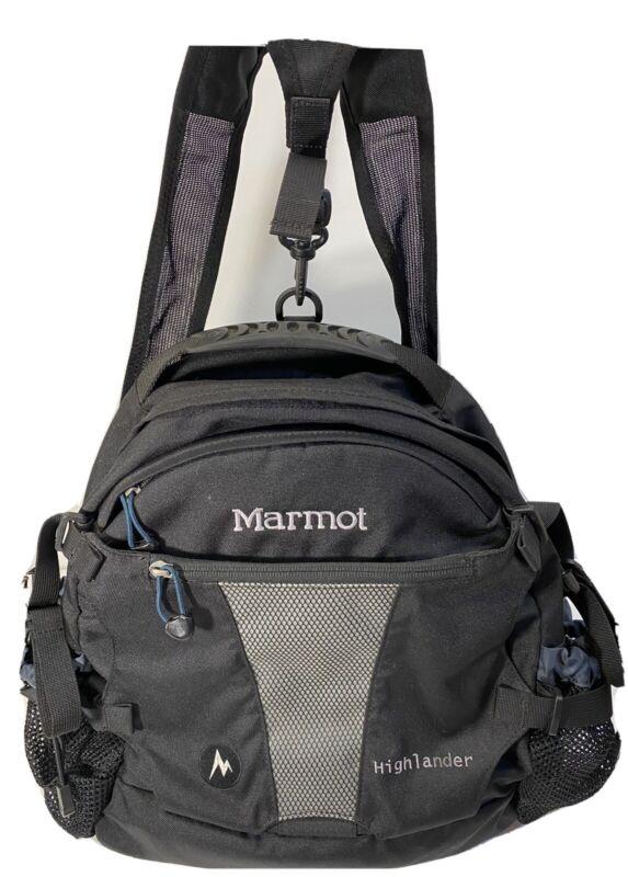 Marmot Highlander Lumbar Hiking Day Pack Dual Water Bottle Pockets