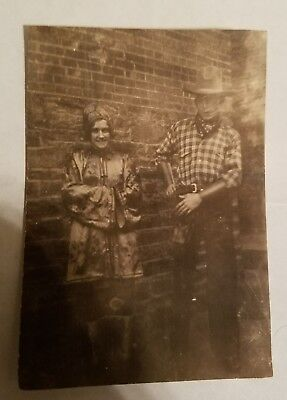 1930s Photo - People at HALLOWEEN COSTUME PARTY - Hunky COWBOY - Gay Intetest