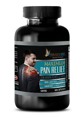 Stress supplement best sellers - MAXIMUM PAIN RELIEF 610MG - msm for humans - 1