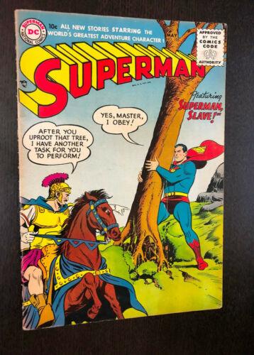 SUPERMAN #105 (DC 1956) -- F-
