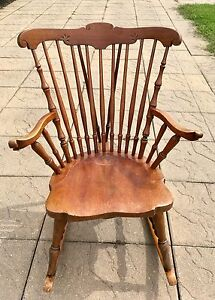 Stunning Solid Wood Rocking Chair - $60 OBO