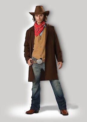InCharacter Rawhide Renegade Cowboy Western Adult Mens Halloween Costume 11022