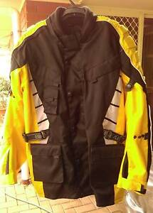 Bikers Gear Australia Yellow and Black Motor Bike Jacket Greenwith Tea Tree Gully Area Preview