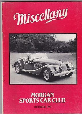 MISCELLANY MORGAN SPORTS CAR CLUB MAGAZINE OCTOBER 1995 POST FREE