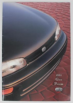 GM 1995 Geo Prizm Sales Brochure / Literature