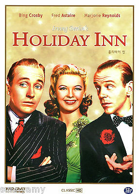 Irving Berlins   Holiday Inn   Bing Crosby Fred Astaire  Color Lovely Dvd  New