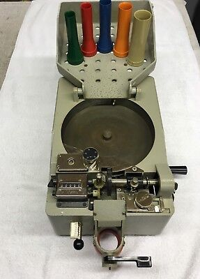 Vintage Major Model Mh75 Coin Counter Sorter Usa For Partsdecorate Use Only