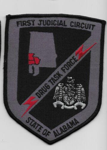 Alabama First Judicial Circuit Drug Task Force Police Sheriff DEA State AL