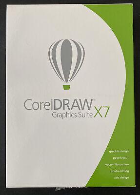 CorelDRAW Graphics Suite X7, Windows Compatible, CDGSX7ENMBC, READ DESCRIPTION