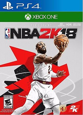 Nba 2K18 For  Playstation 4 Xbox One   Early Tip Off Edition  Brand New