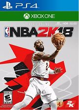 NBA 2K18 For (PlayStation 4-Xbox One) -Early Tip-Off Edition- Brand NEW
