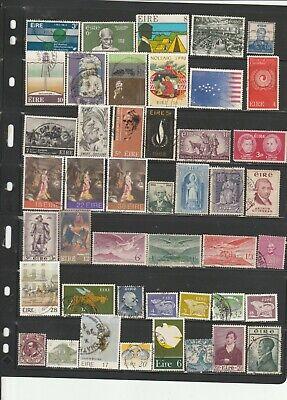 Ireland used stamp assortment