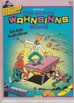 orilla Comics Band 1. Die echte Wahnsinns Band (Lila Gorilla)