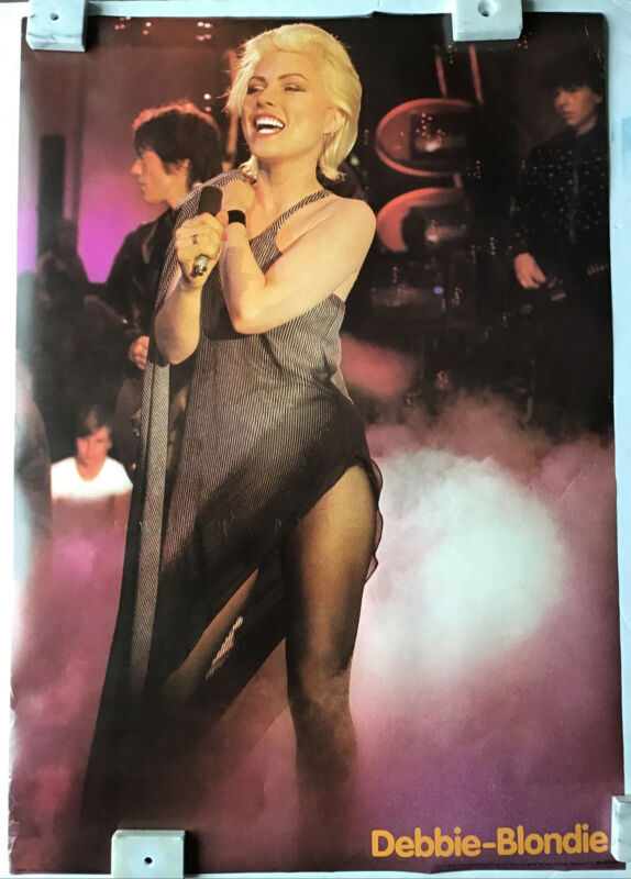 Debbie Harry Blondie Vintage Import Poster