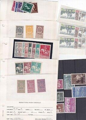 Belgique. Bon lot de timbres et séries en neufs X et XX. Bonne qualité générale.