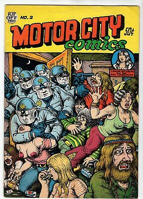 1970 Motor City Comics #2 Published by Rip Off Press R. Crumb for sale  Shipping to Canada