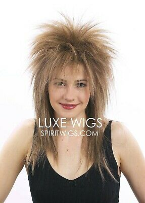 TINA TURNER 1980's Deluxe Halloween Costume Theatrical Wig by SpiritWigs.com