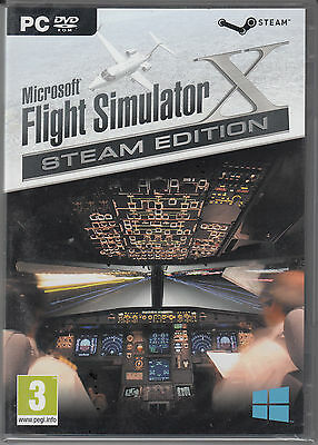 Microsoft Flight Simulator X Gold Steam Edition with X Deluxe and Acceleration