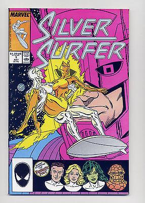 Silver Surfer #1  VF+  1987  Marvel Comic  Book