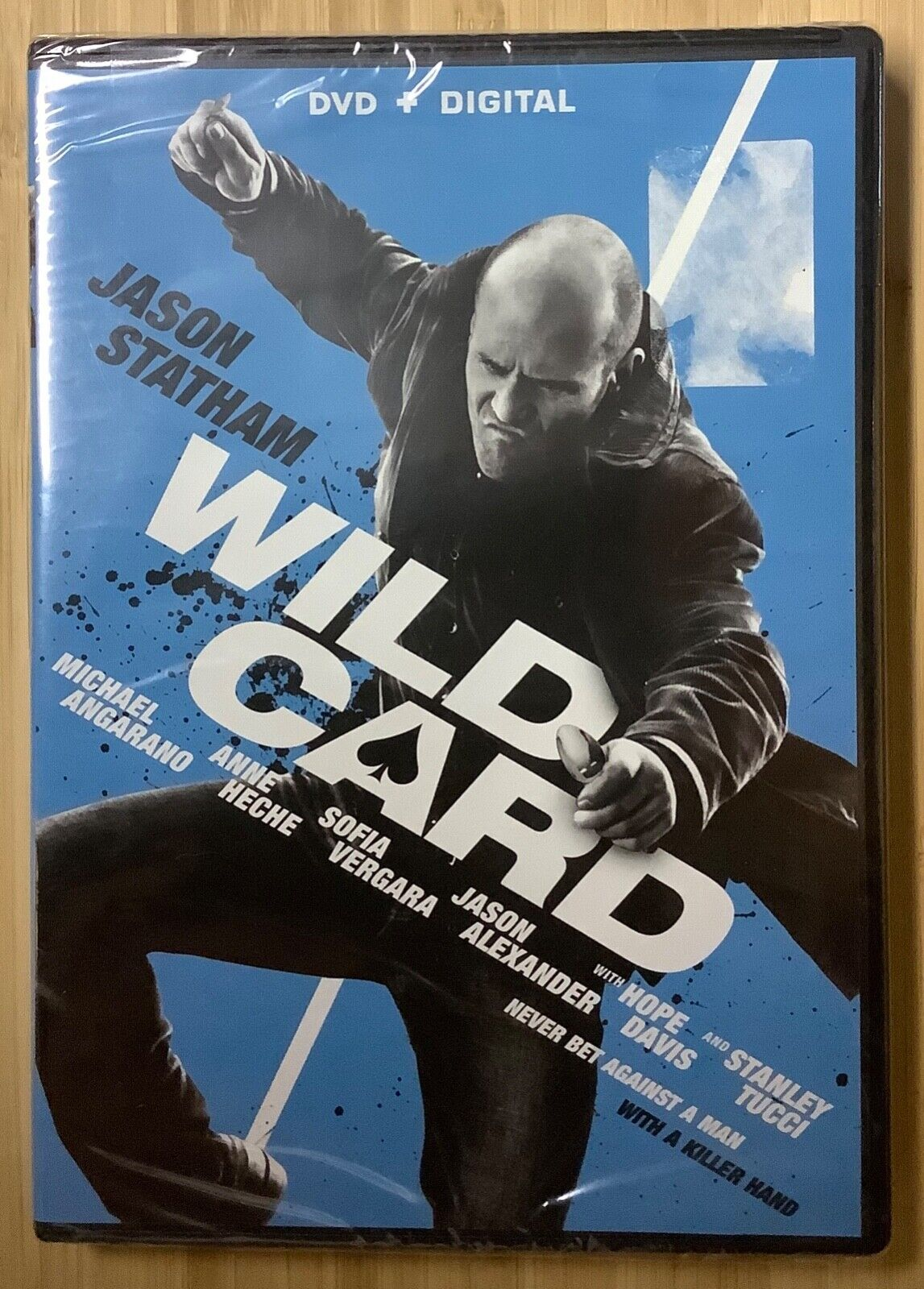 Wild Card 2014 DVD Jason Statham Michael Angarano Anne Heche Action NEW SEALED - $5.00