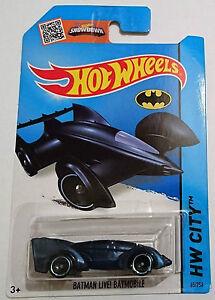 Hotwheels   Batman Live!   Batmobile   Blue