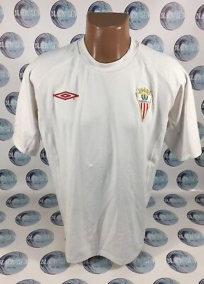 Algeciras CF 2008 2009 HOME FOOTBALL SOCCER SHIRT JERSEY CAMISETA UMBRO XL MEN image