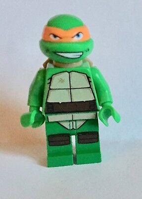 LEGO minifigure Michelangelo Turtle from Teenage mutant ninja turtle sets