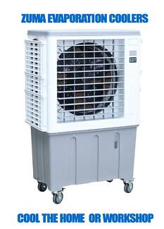 NEW ZUMA Large Evaporative Air Cooler Indoor & Outdoor MAB07-EQ