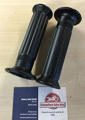 DOHERTY REPLICA HANDLEBAR GRIPS 78 TRIUMPH NORTON CAFE RACERFREE UK