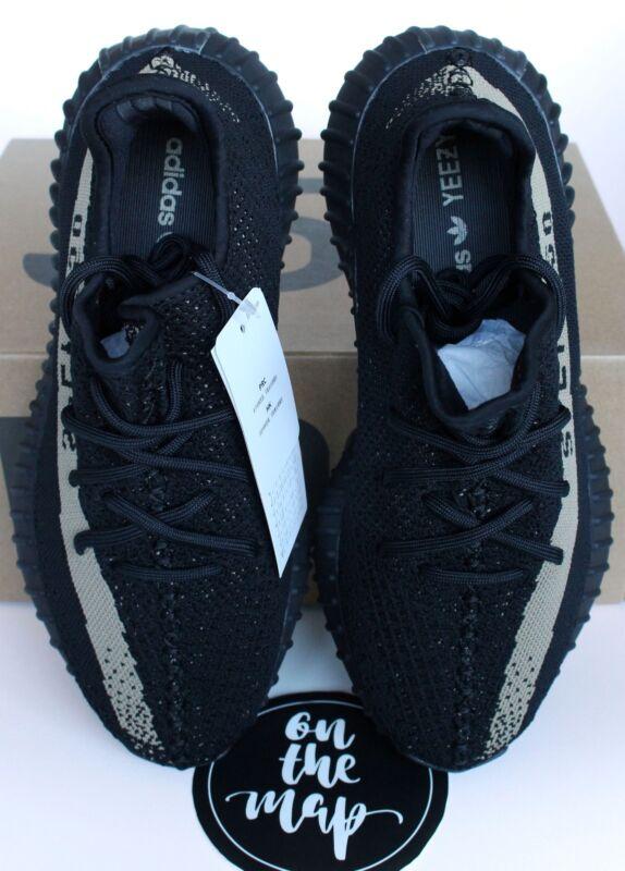 wholesale dealer 7c61e f5aae ... Adidas Yeezy Boost 350 V2 Black Friday Green Stripe BY9611 UK 4 5 6 7 8  ...