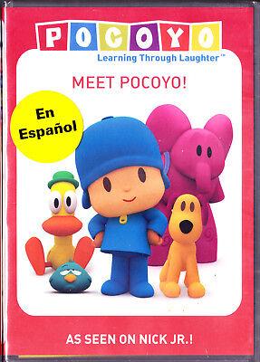 Pocoyo  Meet Pocoyo Dvd Free Shipping English Or Spanish Audio New