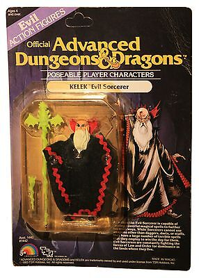 Advanced Dungeons & Dragons-AD&D-KELEK-Evil Sorcerer-Wizard-Spielerfigur-OVP-Neu