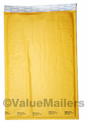 100 5 10.5x16 Bubble - Lite Kraft Bubble Mailers Padded Envelopes Bags