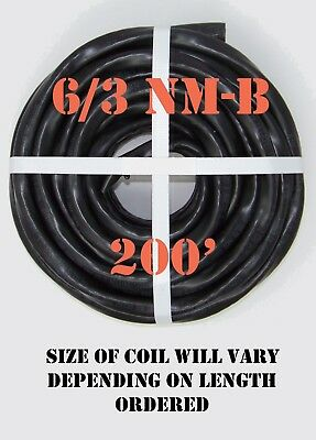 63 Nm-b X 200 Southwire Romex Electrical Cable