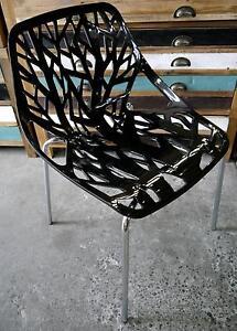 New Black Replica Caprice Dining Chairs Restaurant Bar Cafe Melbourne CBD Melbourne City Preview
