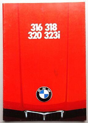 V07549 BMW SERIE 3 E21 - 316 318 320 323i