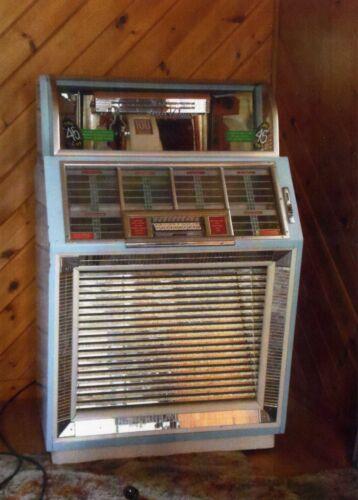 Working 1950 #M100B Seeberg Jukebox, 50 Record/100 Selection