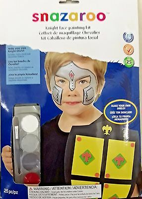 Snazaroo Knight Role Play Face Painting Kit NEW Halloween (Snazaroo Face Painting Kit Halloween)