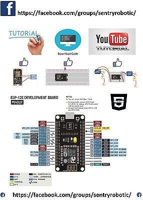 V3 Wireless Module Nodemcu 4M Bytes Lua Wifi Internet Of Thing Esp8266 Esp 12E