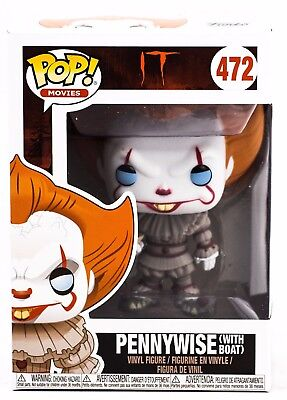 Funko Pop Movies It Pennywise With Boat Vinyl Figure In Stock 2017