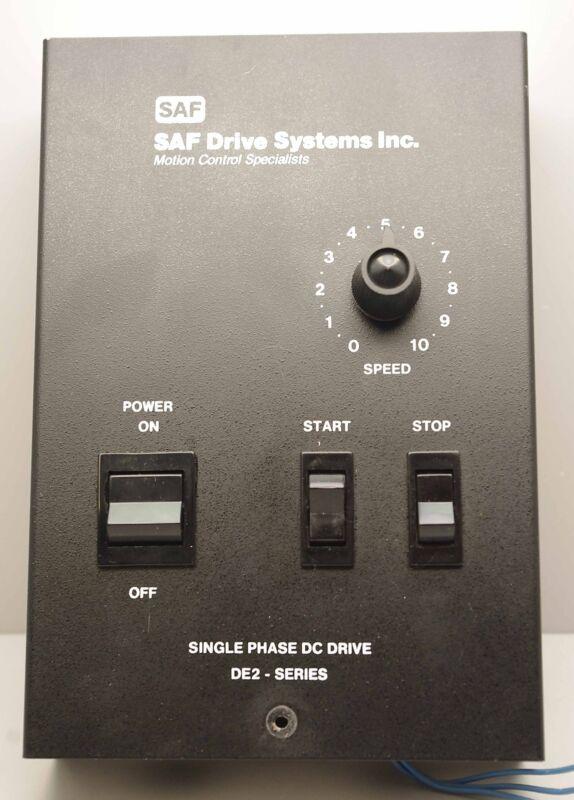 SAF Saftronics Single Phase DC Drive DE2-10-1 ++