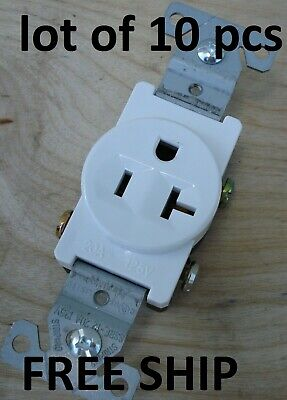 FREE SHIPPING IN THE CONTINENTAL US Generator Duplex Receptacle 125 Volt 20-AMP
